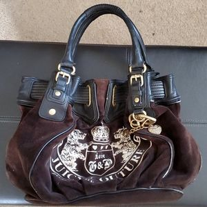 Juicy couture velour bag